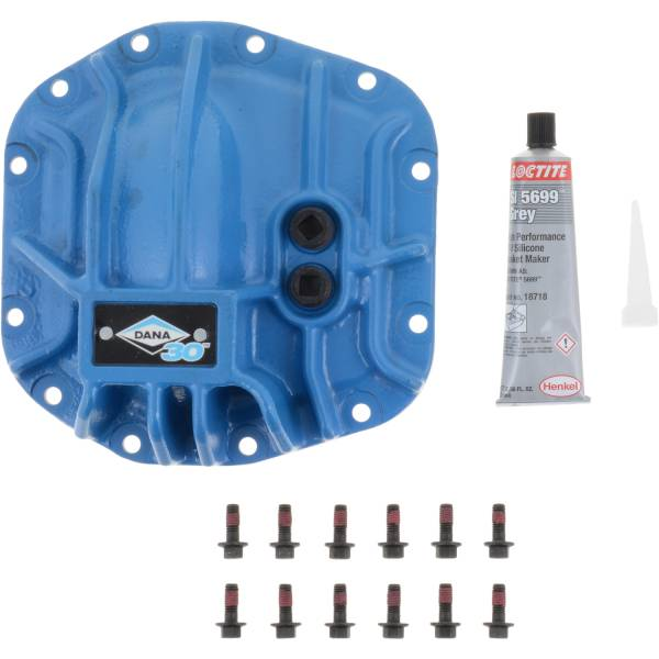 Spicer - Blue Differential Cover Kit JL Dana 30 Front