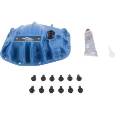 Blue Differential Cover Kit JL Dana 44 AdvanTEK Rear